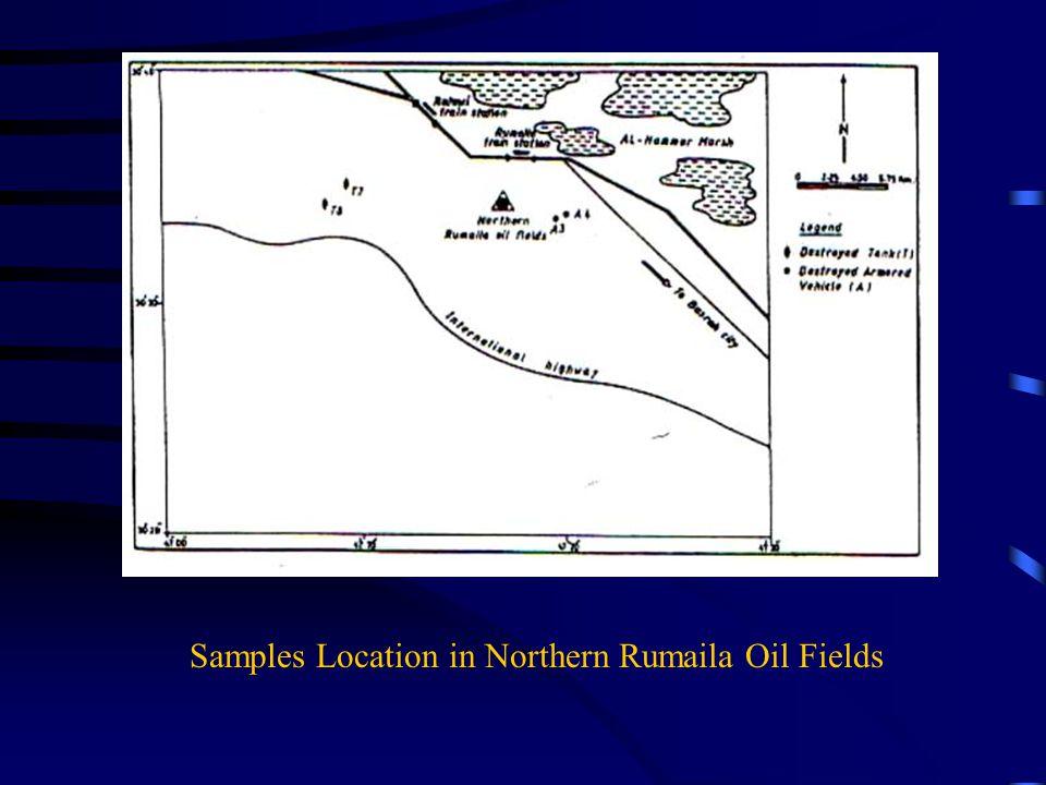 Samples Location at Safwan – Jabal Sanam Areas