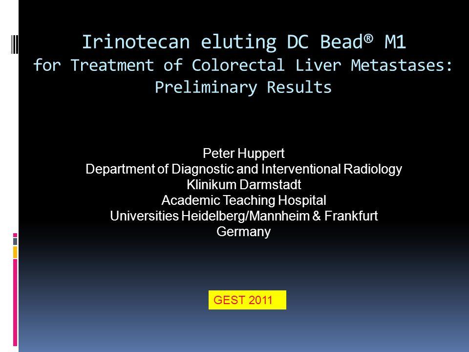 TACE of Colorectal Cancer Liver Metastases pts.