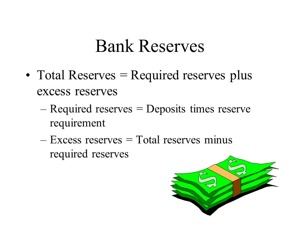 Money Creation: Summary New Deposit Required Reserves Excess Reserves New Loan $100 $100 $10.00 $ 90 $ 90 $ 90 $ 9.00 $ 81 $ 81 $ 81 $ 8.10 $ 72.90 $ 72.90 $ 72.90 $ 7.29 $ 65.61 $ 65.61 $ 65.61 $ 6.51 $ 59.05 $ 59.05 $1,000 $100 $900 $900
