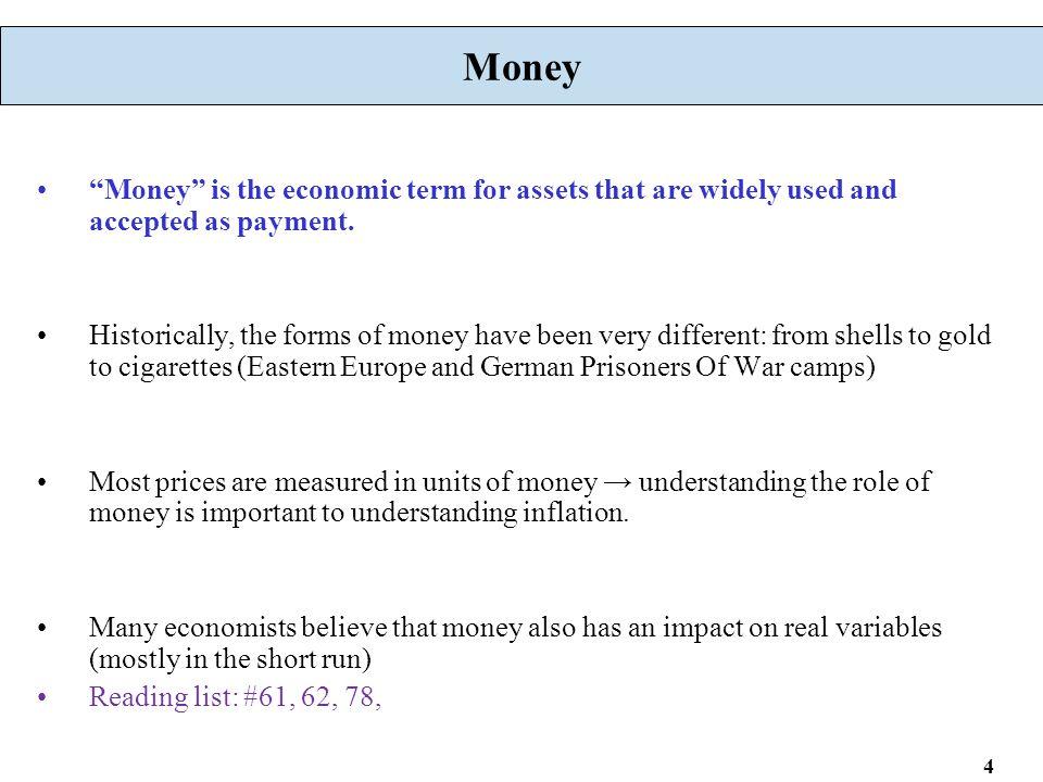 65 An Illustration of Monetary Feedback in Money Market Suppose M increases M d = L d (Y,π e ) M s M s 1 M/P M 1 /P Money Market rere re1re1 0 1