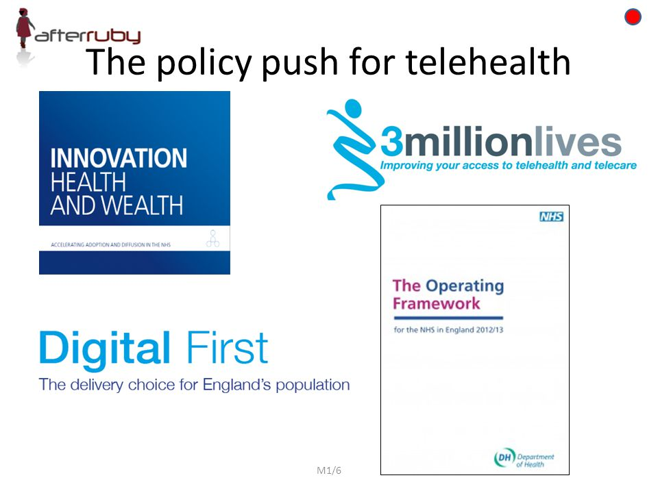 The policy push for telehealth M1/6