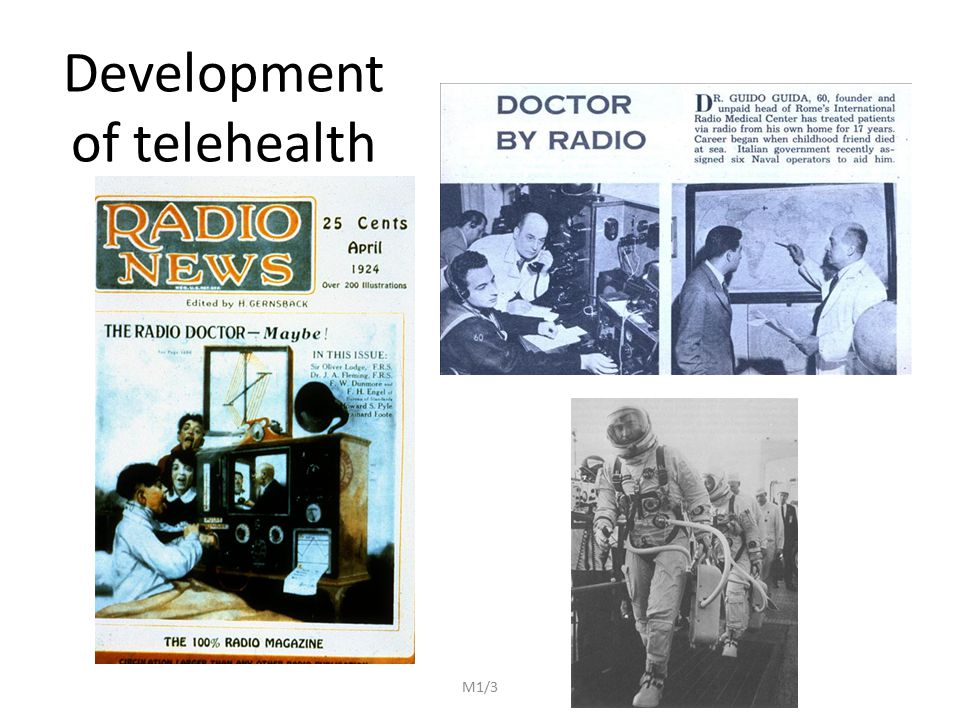 Development of telehealth M1/3
