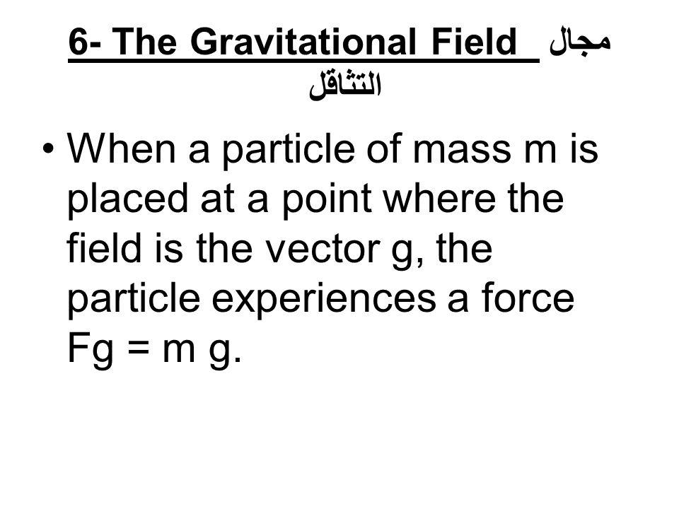 Thus, it follows that g decreases with increasing altitude تقل عجلة الجاذبية كلما ارتفعنا عن سطح الأرض.