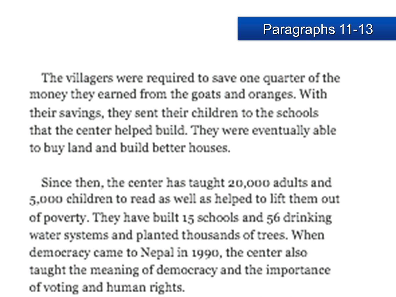 Paragraphs 11-13