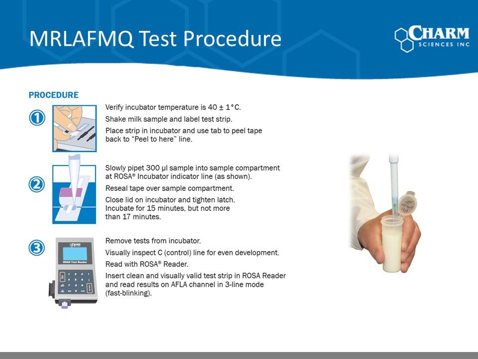 MRLAFMQ Test Procedure