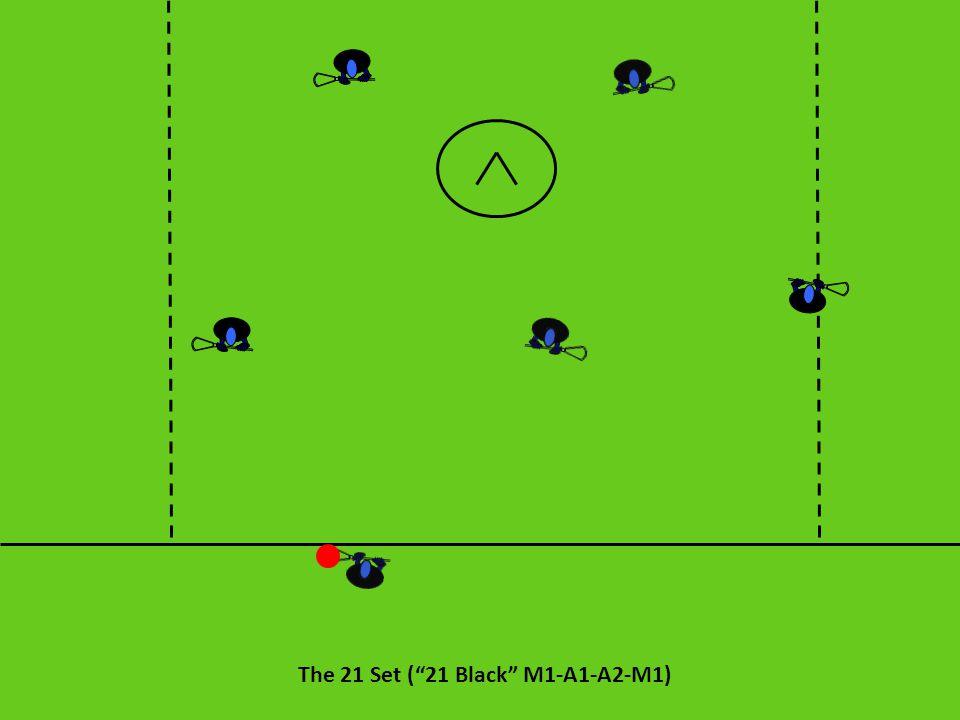 """The 21 Set (""""21 Black"""" M1-A1-A2-M1)"""