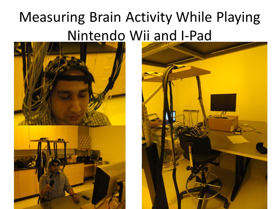 Measuring Brain Activity While Playing Nintendo Wii and I-Pad