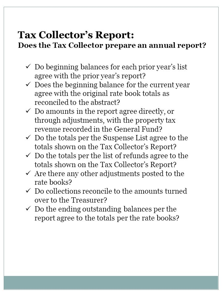 Do beginning balances for each prior year's list agree with the prior year's report? Does the beginning balance for the current year agree with the or