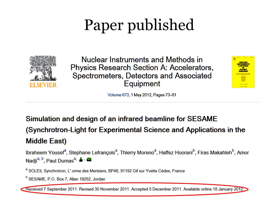 Paper published