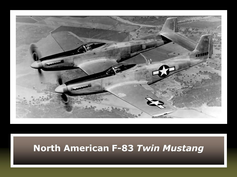 North American F-83 Twin Mustang