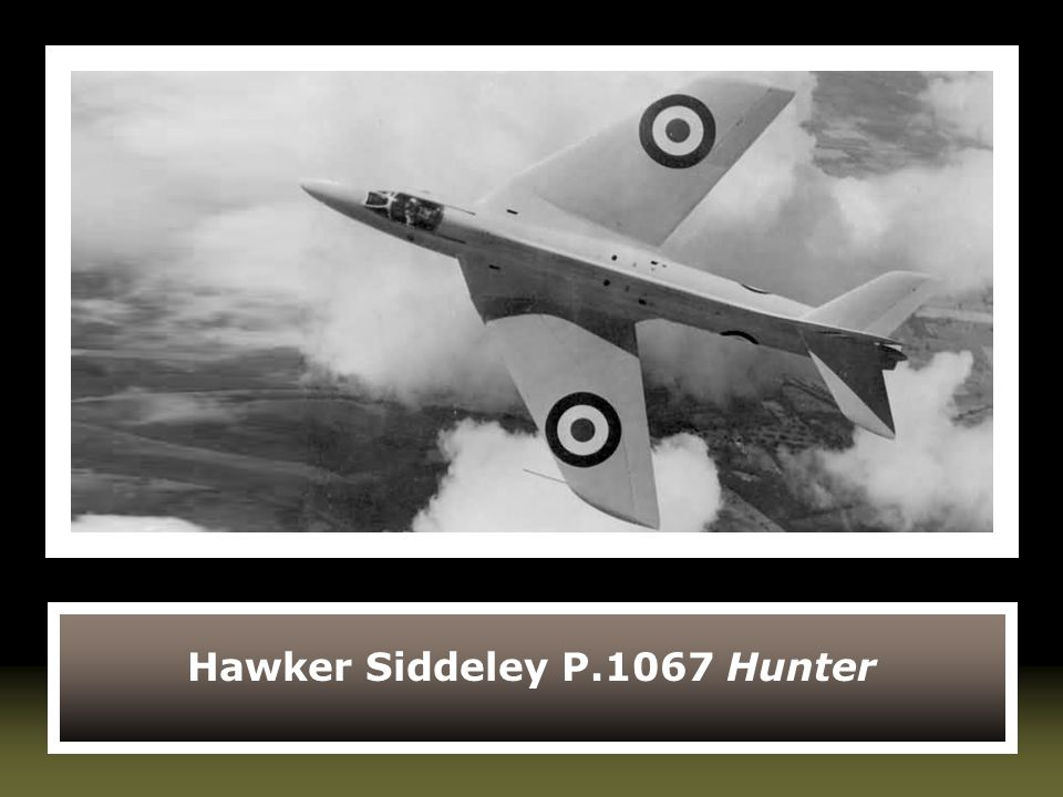 Hawker Siddeley P.1067 Hunter