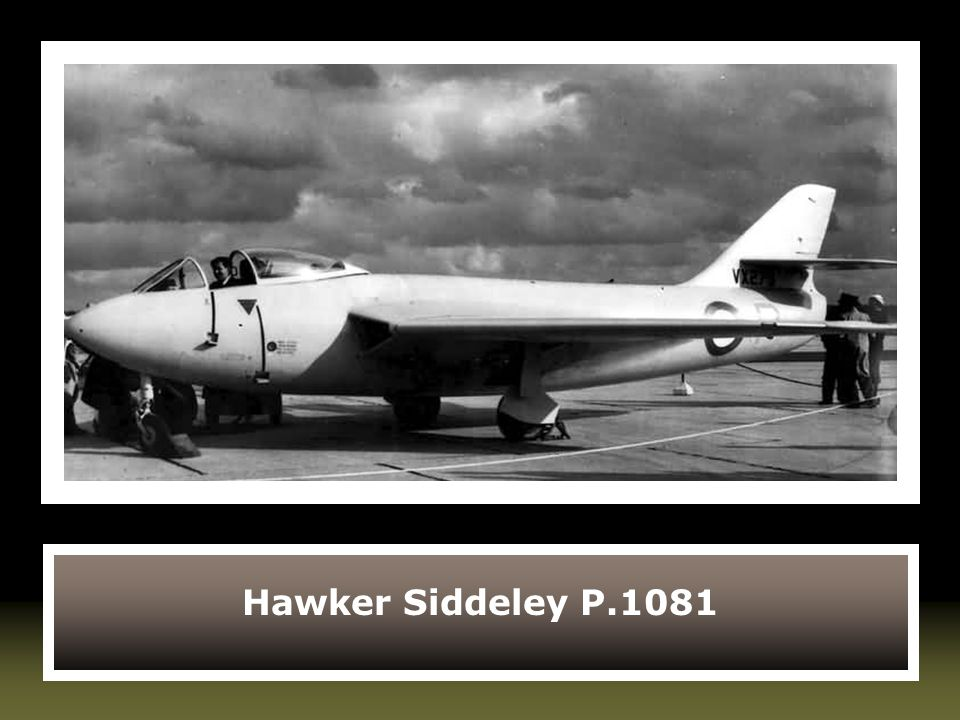 Hawker Siddeley P.1081