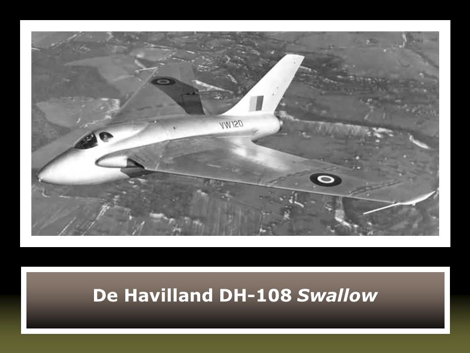 De Havilland DH-108 Swallow