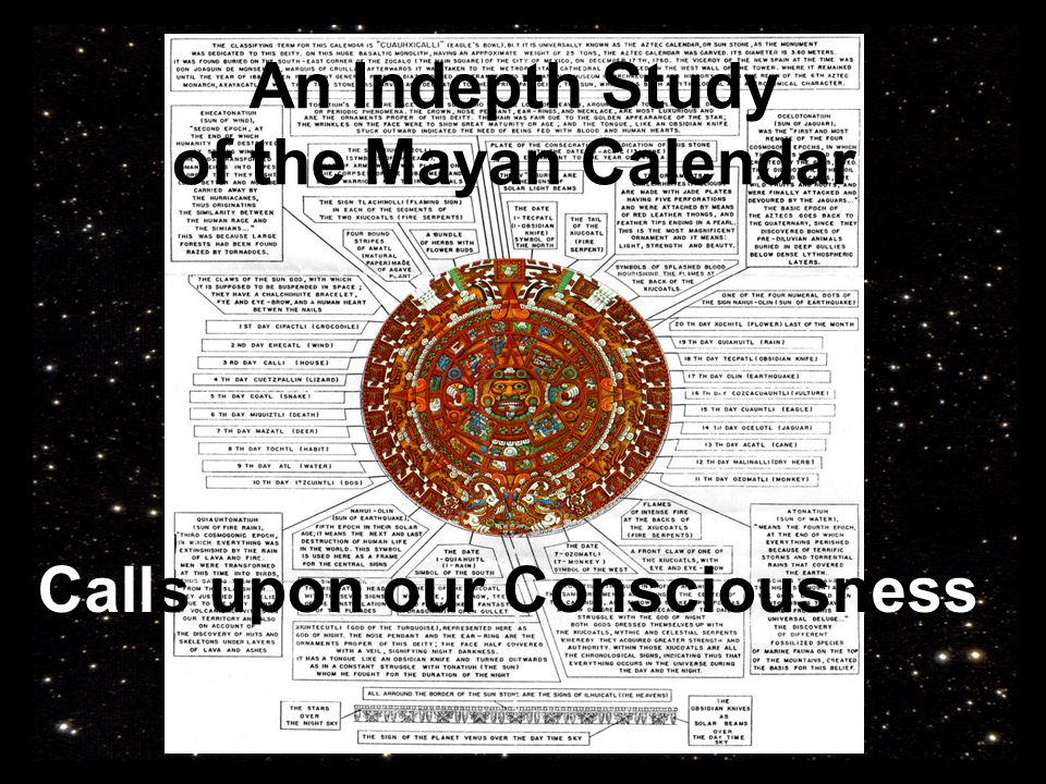 Une étude approfondie Calls upon our Consciousness An Indepth Study of the Mayan Calendar