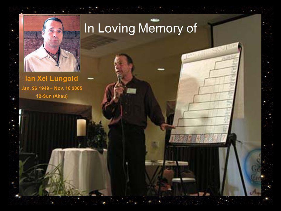 In Loving Memory of Ian Xel Lungold Jan. 26 1949 – Nov. 16 2005 12-Sun (Ahau)