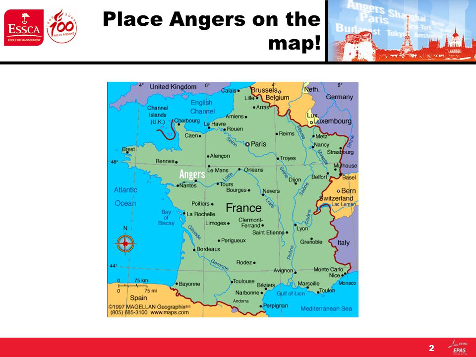 Place Angers on the map! 2
