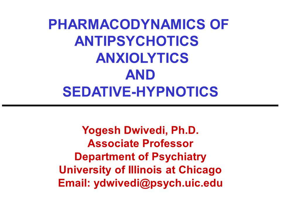 Cholecystokinin (CCK)* and CRF* Antagonists as Anxiolytics Tetra-peptide CCK causes panic attacks CCK antagonists are anxiolytic in panic disorder Cortotropin-releasing factor is a neuropeptide which mediates anxiety behavior.