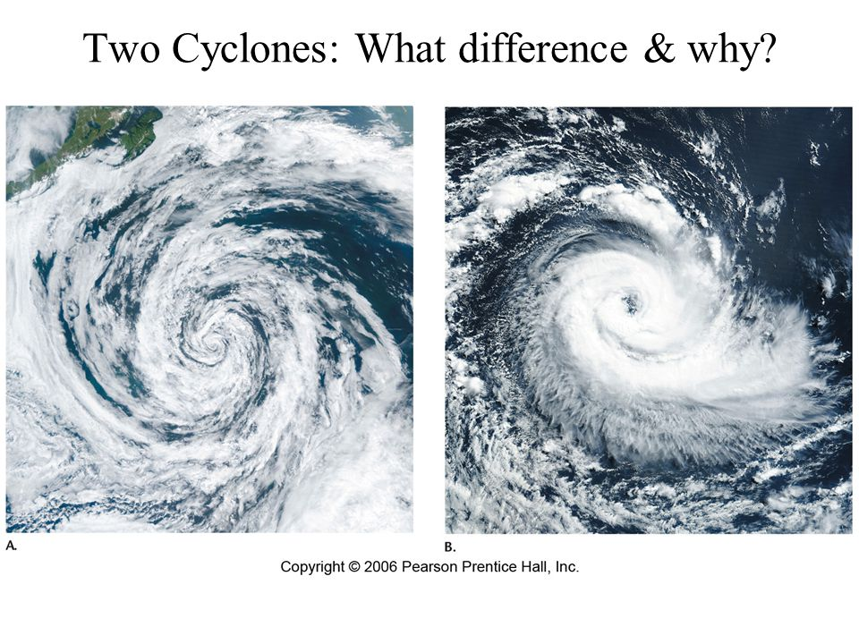 Two Cyclones: What difference & why