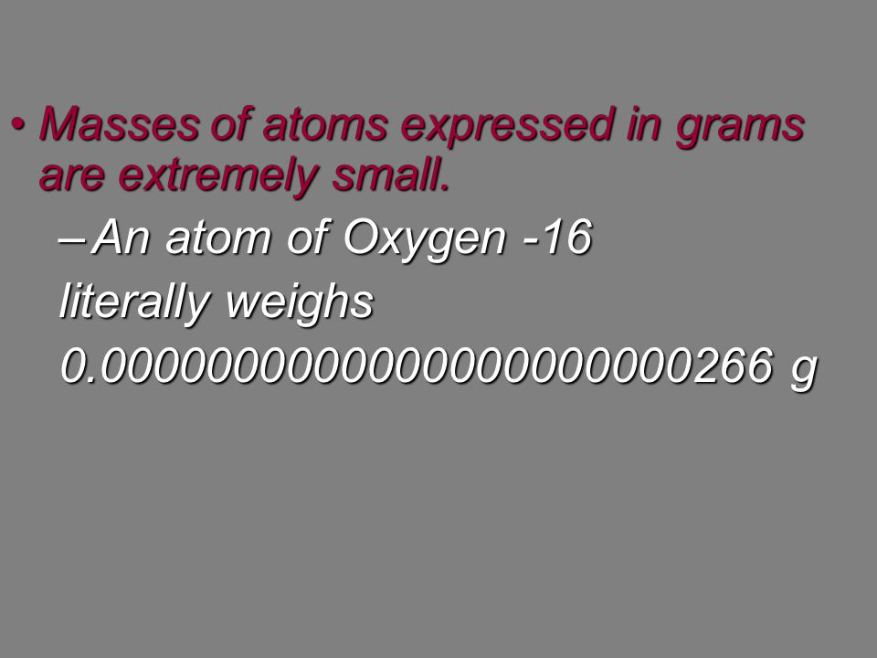 We can also relate mass to the number of atoms and the mole.We can also relate mass to the number of atoms and the mole.