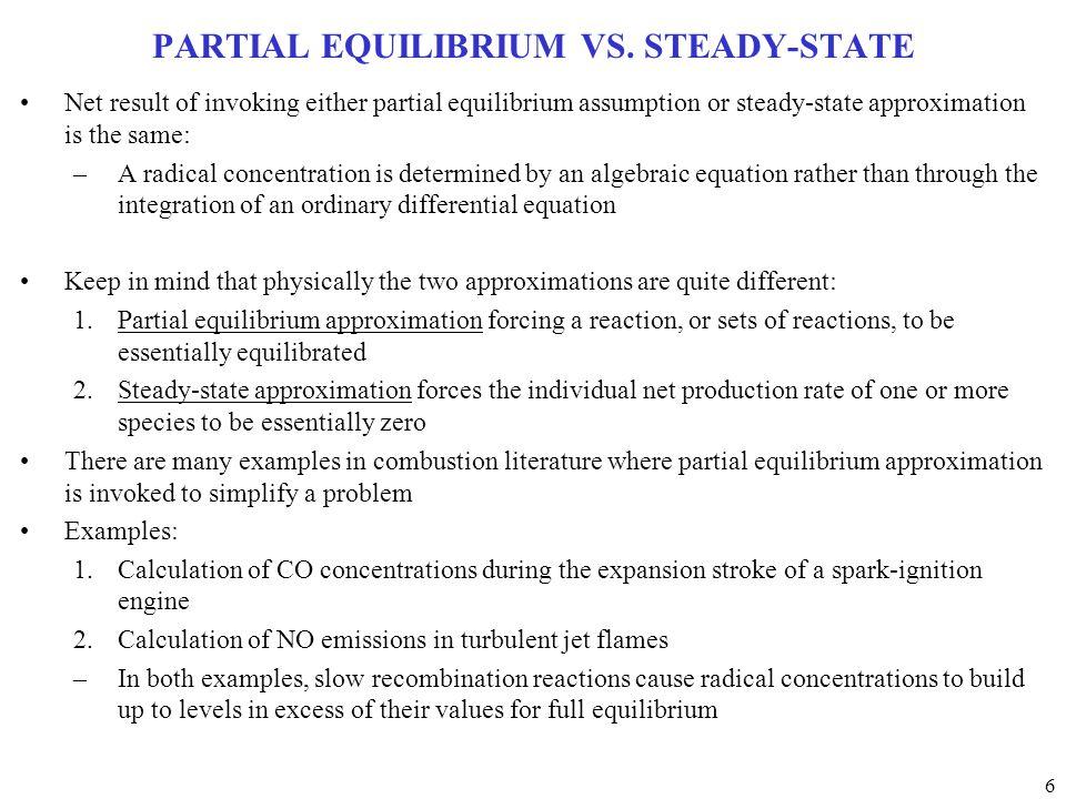 6 PARTIAL EQUILIBRIUM VS.