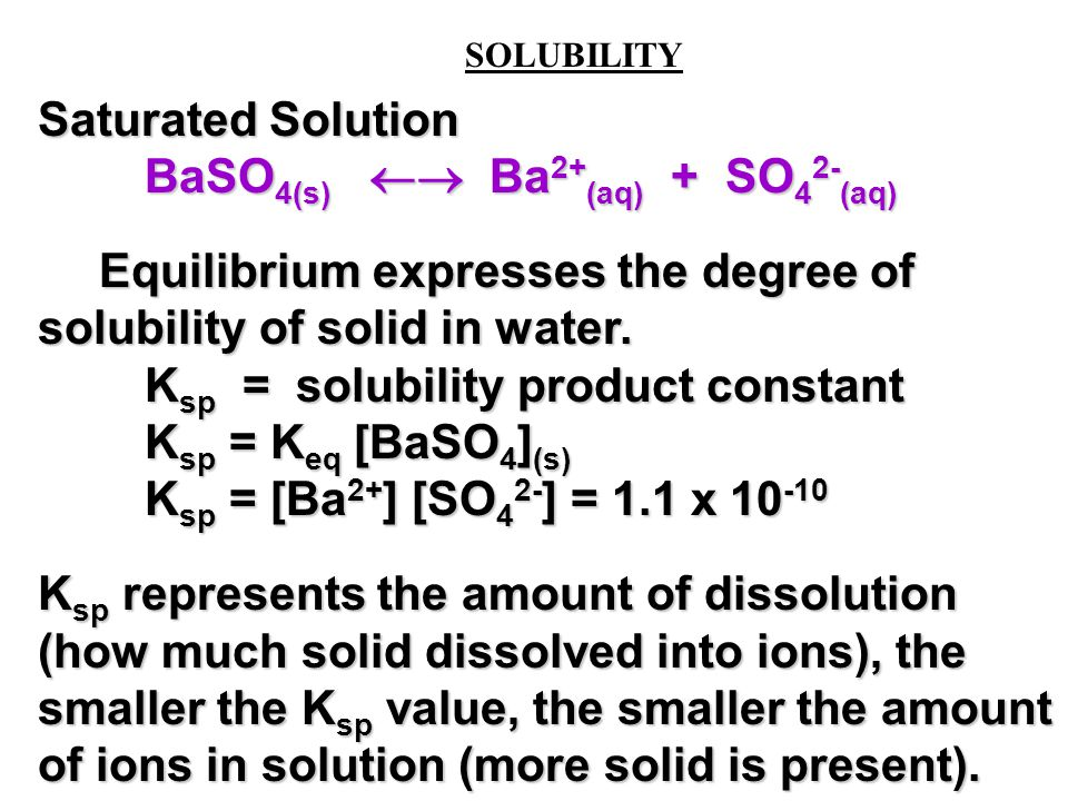 3 STEPS TO DETERMINING THE ION CONCENTRATION AT EQUILIBRIUM I.