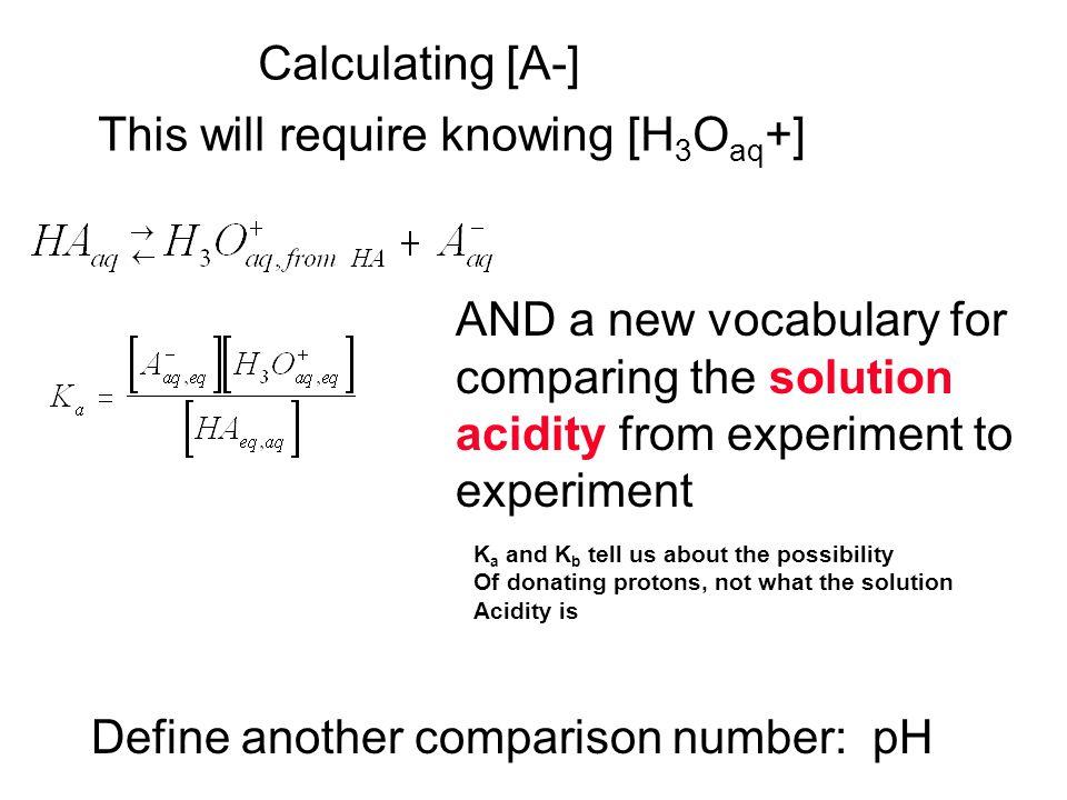 H 2 OOH - H + 55.510 -7 10 -7 HF + H 2 O F - + H + stoic1n.a.1 1 [Init]1.00 10 -7 Change-x+x +x Assume1.0>>xx 10 -7 <<x Equil1.0xx check?.