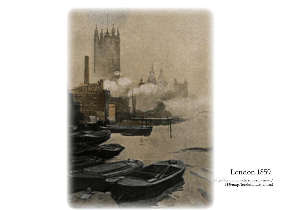 London 1859 http://www.ph.ucla.edu/epi/snow/ 1859map/londonindex_a.html