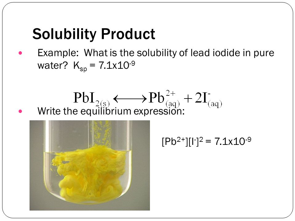 Solubility Chart Example Solubility Rulesusually Solublebr Apply