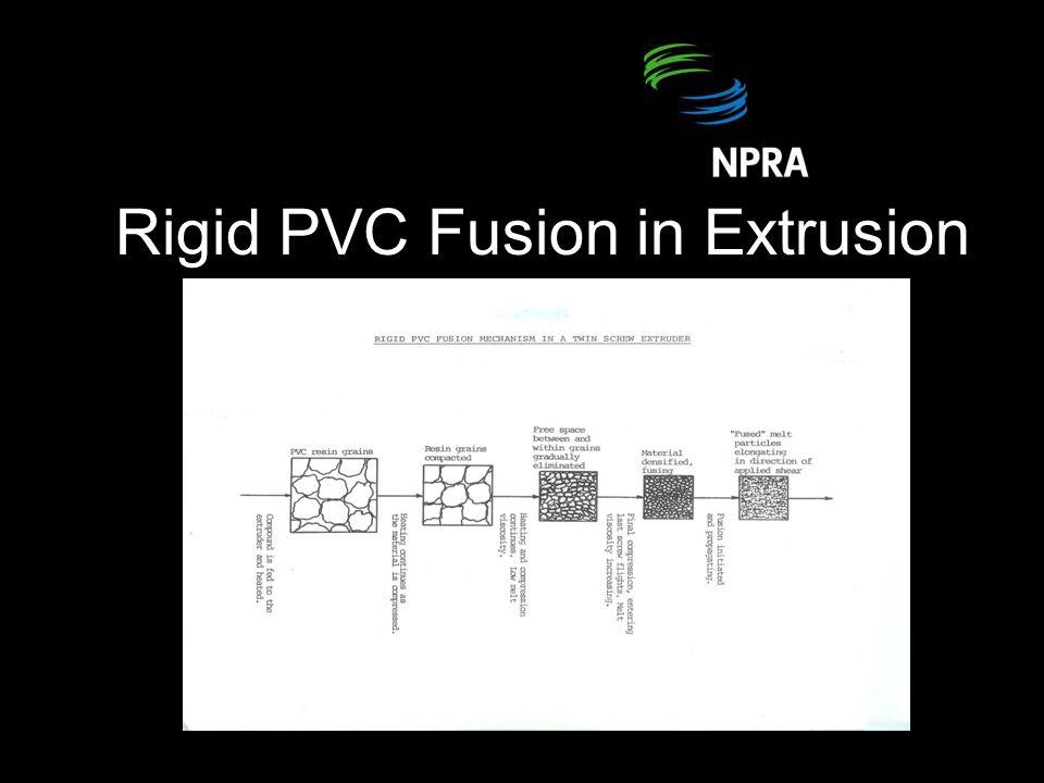 Rigid PVC Fusion in Extrusion