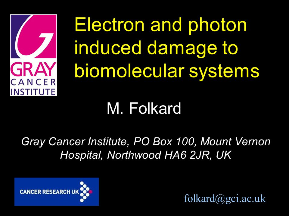 Electron and photon induced damage to biomolecular systems M.