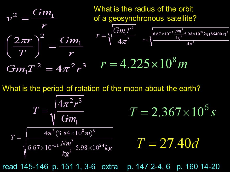 What is the period of rotation of the moon about the earth.