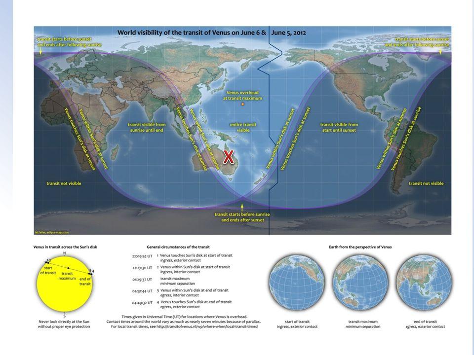 39 5/6 June 2012 Transit of Venus