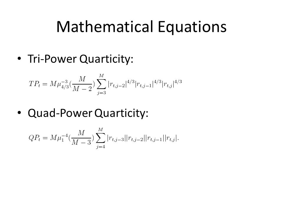 Mathematical Equations Tri-Power Quarticity: Quad-Power Quarticity: