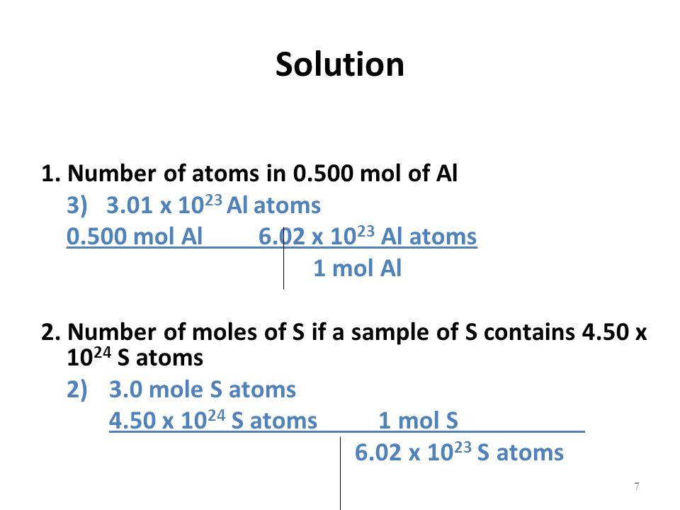 Solution 1.