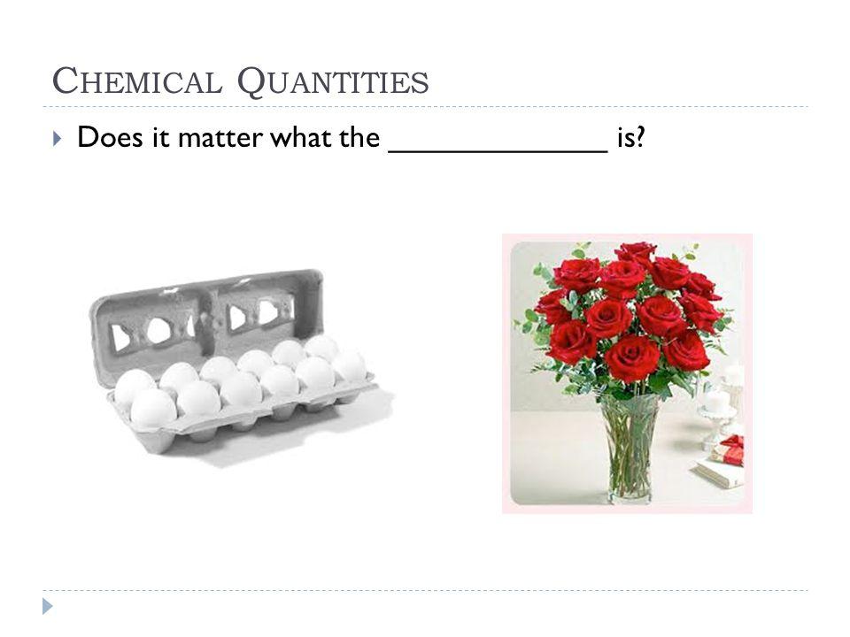 C HEMICAL Q UANTITIES - E MPIRICAL F ORMULAS Steps to solve for an Empirical Formula 1.