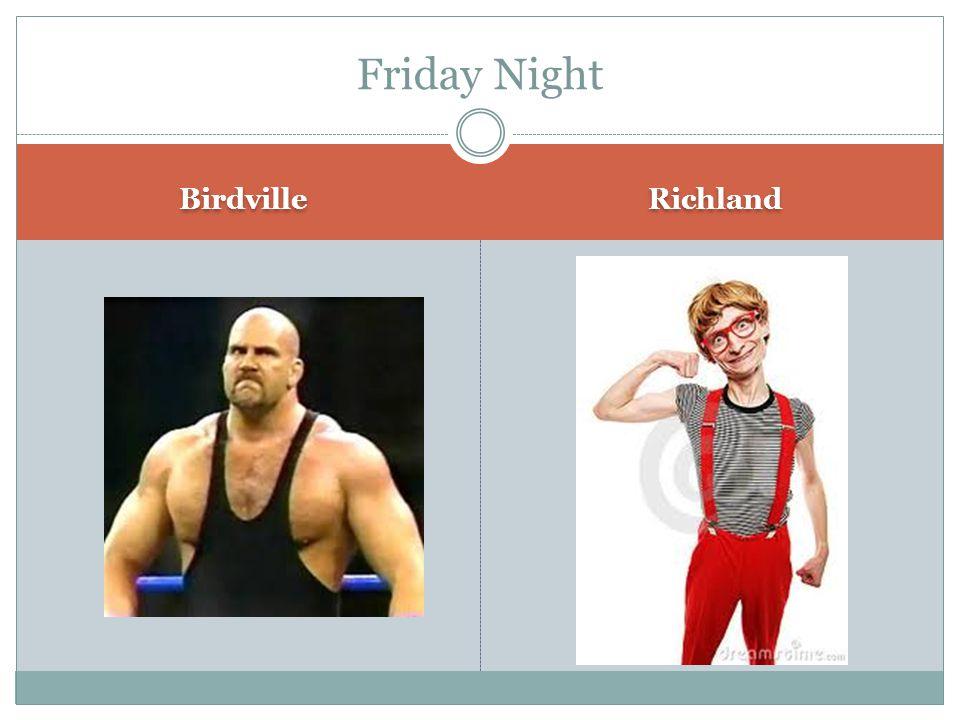 Birdville Richland Friday Night