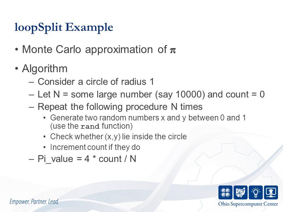 loopSplit Example
