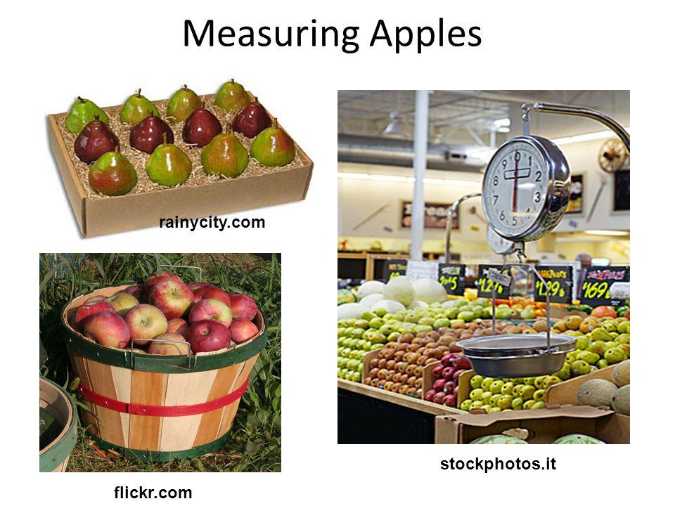 Measuring Apples stockphotos.it rainycity.com flickr.com