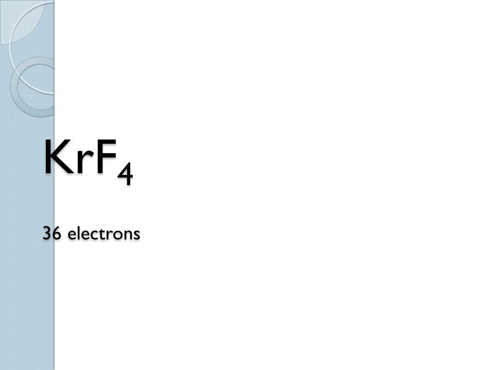 KrF 4 36 electrons