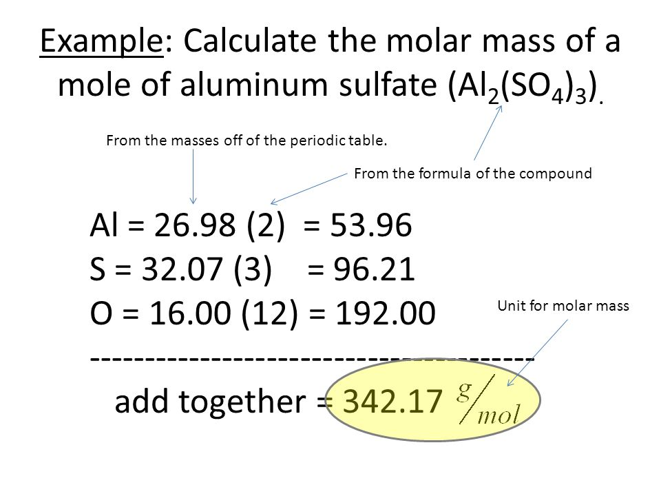 Chapter 10 Worksheet Examples. MOLAR MASS Worksheet: - ppt download