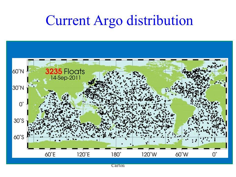 Current Argo distribution Carton