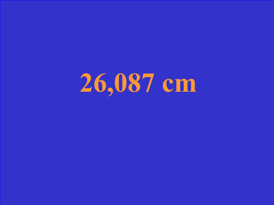 Your favorite radio station broadcasts at a frequency of 1.15x10 6 Hz or s -1. What is this wavelength in centimeters?