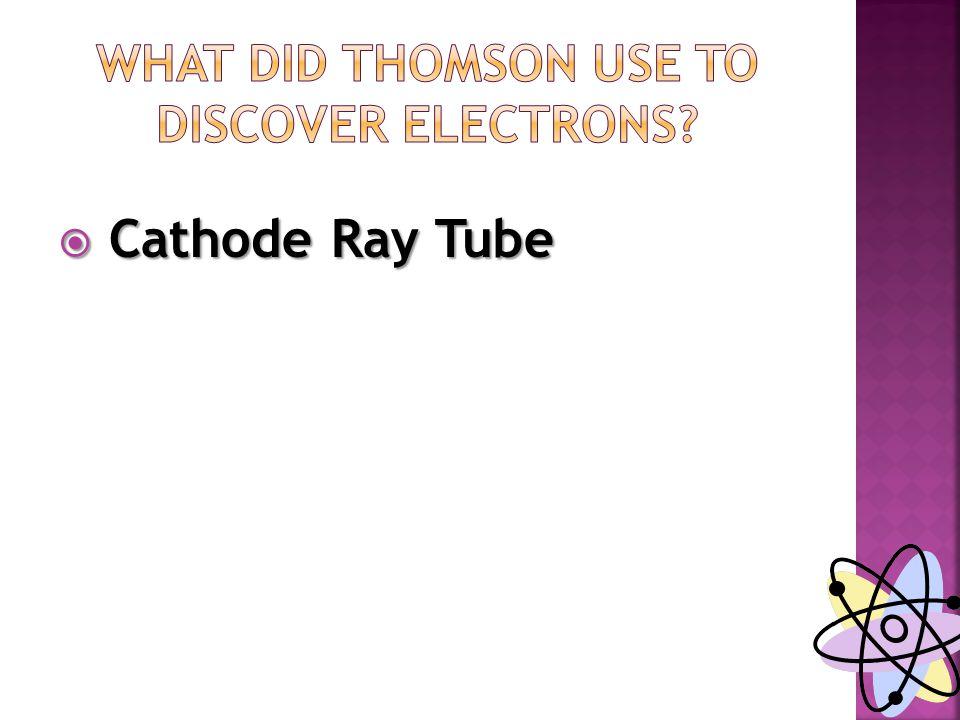  Cathode Ray Tube
