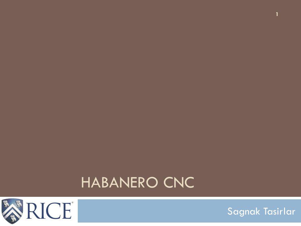 HABANERO CNC Sagnak Tasirlar 1