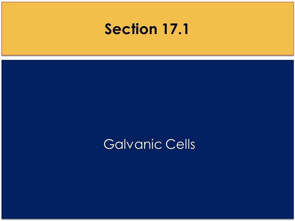 E cell Example II Given the information below determine the voltage and write the balanced equation of the following voltaic cell.