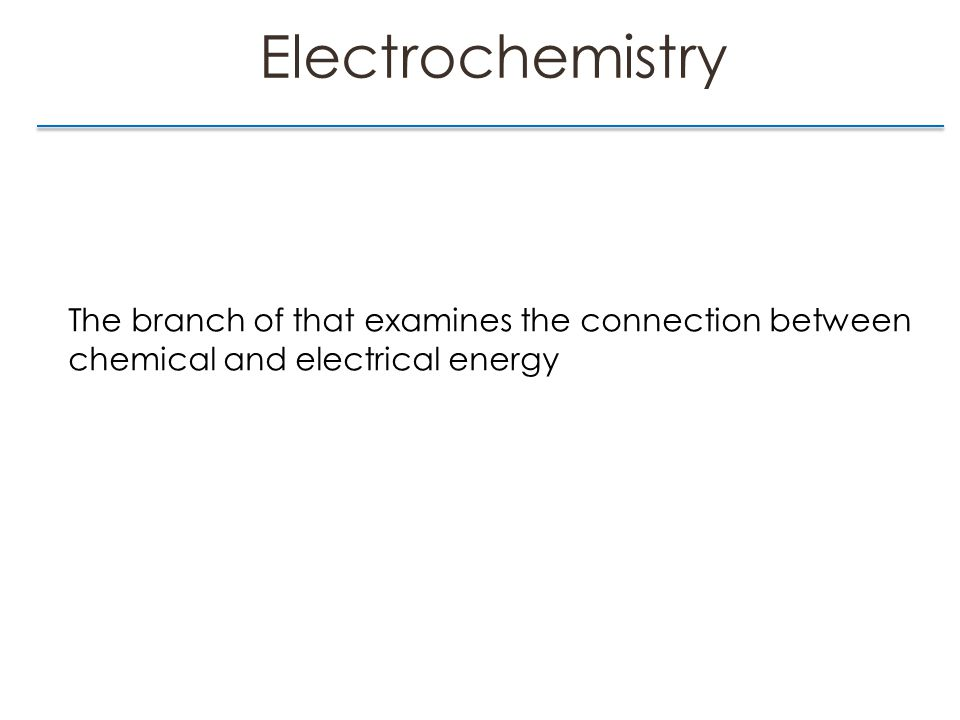 Cell Potential & Free Energy Section 17.3