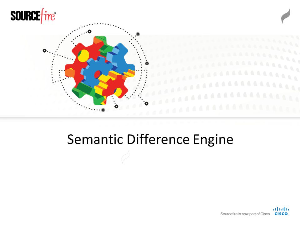 Semantic Difference Engine