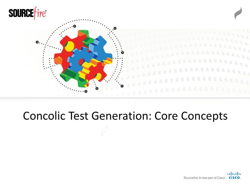 Concolic Test Generation: Core Concepts