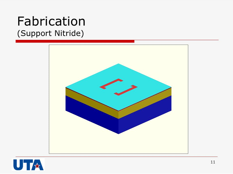11 Fabrication (Support Nitride)