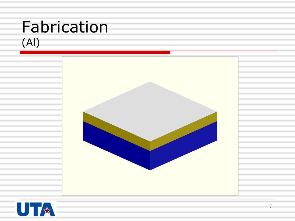 9 Fabrication (Al)